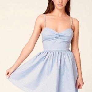 American Apparel cotton chambray dress